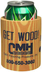 Wood Like Can Cooler